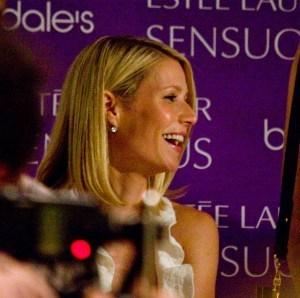 Gwyneth Paltrow on tanning