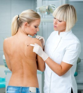 melanoma survey by dermatologist