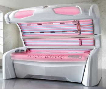 Red Light Therapy Tanning Beds For Skin Rejuvenation The