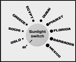 bottled sunlight switch